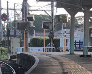 あすなろう鉄道日永駅